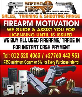 Sales And Training of Firearm Competency