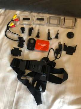 Gopro kit and accessories
