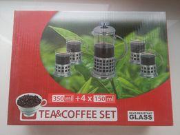 Набір для заварювання чаю/кави 5предм. НОВИЙ