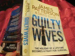 книга английский JAMES PATTERSON детектив Паттерсон guilty wives