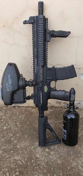 Paintball gun up for grabs