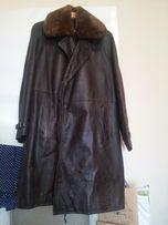 мужской кожаный плащ-пальто (СССР)
