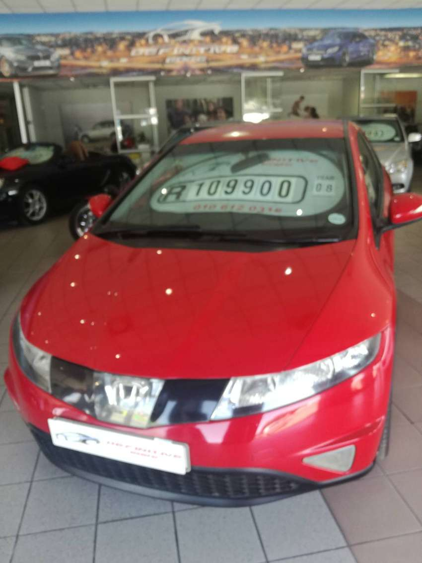 2008 Honda civic R sport, with full service history and books 0