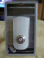 Lampka 3 w 1 z sensorem ruchu