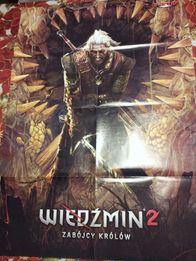 Plakat z gry Wiedźmin 2 Zabójcy królów