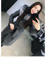 Пальто Алиса тёплая зима женское стильное шерстяное пальто