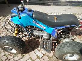 I'm selling a two stroke quad