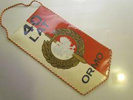 Proporczyk 40 lat ORMO Zasłużonemu Działaczowi 1986
