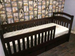 один-ярусная кровать Карина с дерева ольха