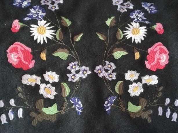 Sprzedam czarny haftowany sweter MEDICINE Węgrów - image 3