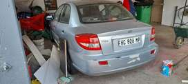 The color of the car is grey its not a a bad condition