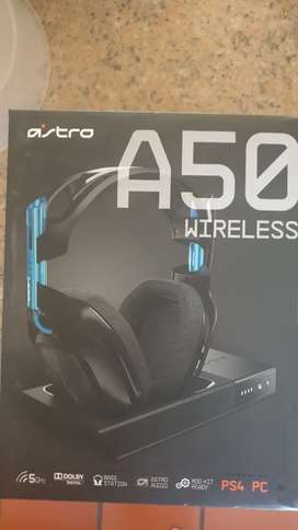 ASTRO A50 Wireless Headset and Base Station.