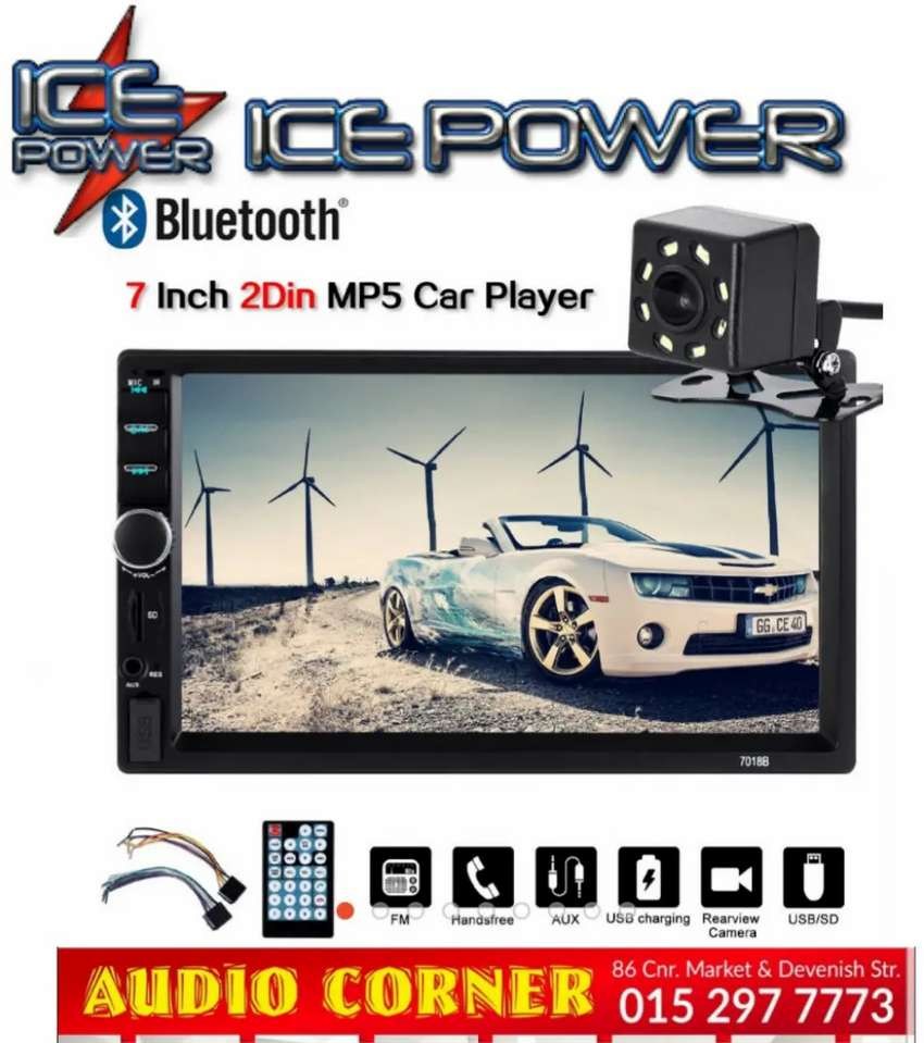 Ice Power Media player With Camera