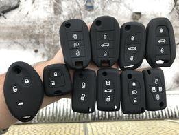 чехол для ключа Citroen C-Elysée,c1,3,4,ds4,jumper,berlingo,Nemo,jumpy