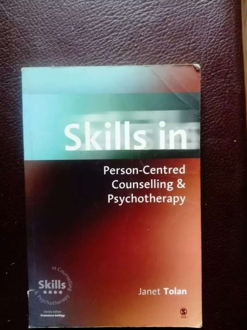 Skills in person centered counselling book 0