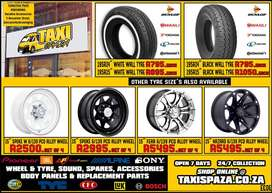 TOYOTA QUANTUM QUANTAM and other taxi brand new tyres, tires, wheels,