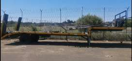 Single axle low bed for sale
