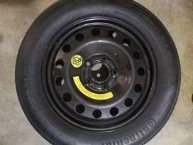 BMW 5 Series F10 e60 X1 X3 BISCUIT SPARE WHEEL