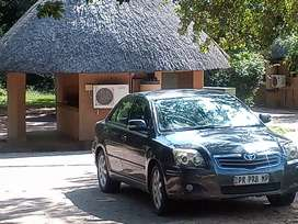 I'm selling a 2007 Toyota Avensis