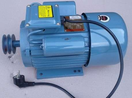 мотор элетродвигатель однофазный 220В 4 кВт 3000об.