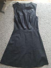 Skórzana sukienka firmy New Look j. Zara rozmiar S 36