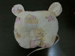 Детская ортопедическая подушка-игрушка.