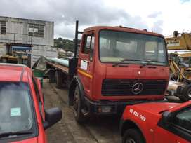 8 Ton Mercedes Truck in running condition. Call Jan to view