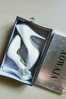 туфли Свадебные белые aowaja