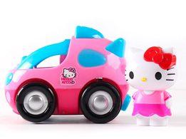 Hello Kitty на розовой машинке на радиоуправлении! Хелло Китти