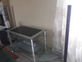 Beautiful Glass TV stand in a good condition