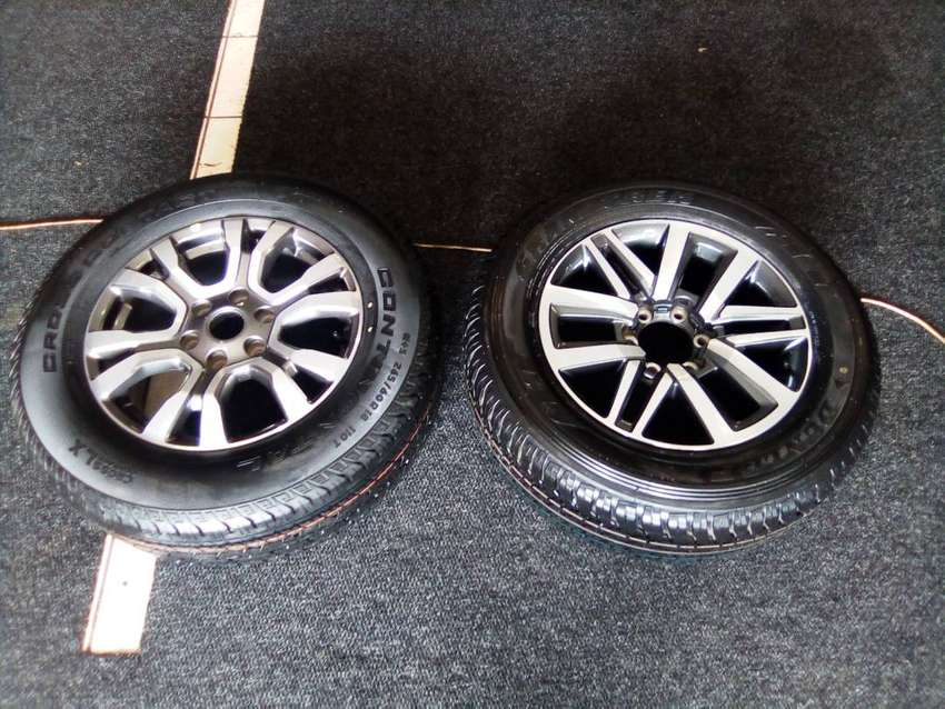 """18"""" Ford ranger Wildtrack And Toyota hilux/fortuner mag rims for spare"""