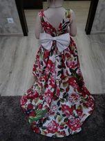 Нарядне плаття зі шлейфом