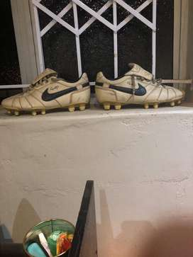 Classic soccer boots