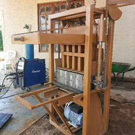 Electric brick making machines