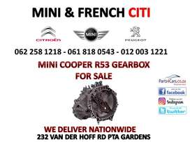 Mini R53 Gearbox for sale