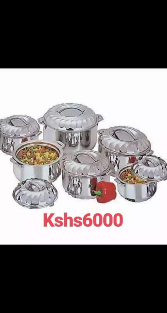 Silver Hot pot dishes 0