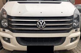 Морда передок капот крыло бампер фары решетка VW Crafter крафтер