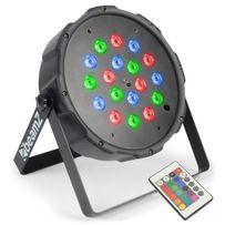 Reflektor PAR 18x1W RGB LED