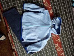 Bluza polarowa, spodenki, sweterek