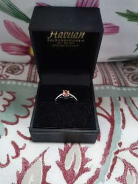 9ct White Gold Ring FOR SALE Size I & Half