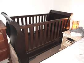 Extra Large Sleigh Cot