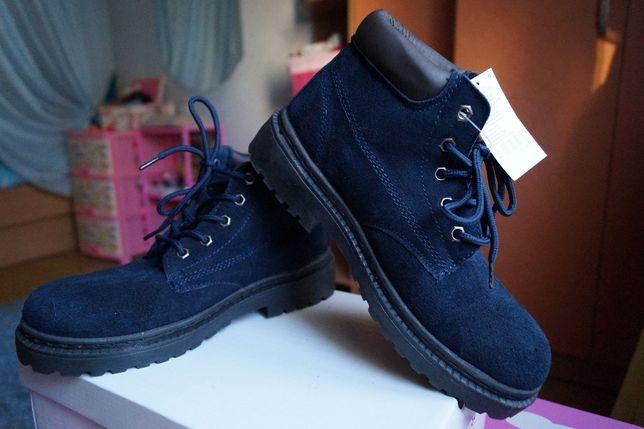 Ботинки для девочки и мальчика зимние замша, новые р,35,36,37,38,39,40 Киев - изображение 1