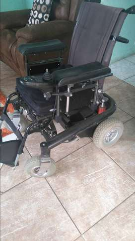 Electric wheelchair. price negotiable