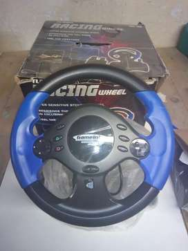 PS2 & PC Gaming Steering wheel