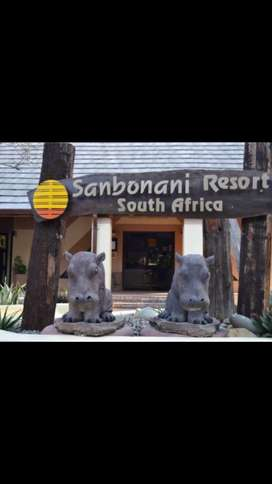 1 Full Week Holiday @ Sanbonani Holiday Spa @ Hazyview