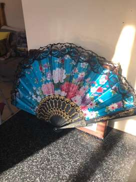 Chinese face fan