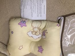 Ортопедическая подушка, бабочка для детей