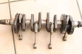 Kawasaki ZXR400 crankshaft and rods