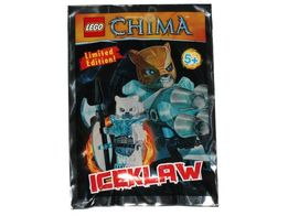 Orginalna Figurka Lego Chima Iceklaw + Broń Nowa Limited Edition