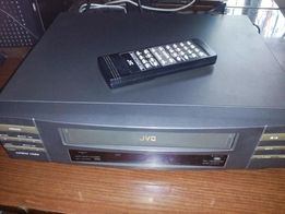 """Видеомагнитофон """"JVC"""", пишущий, настоящая Япония + фирм. пульт """"jvc"""" !"""
